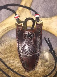 Viking neck knife  by TheGuildedPlane