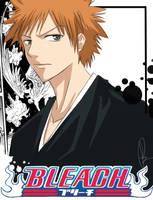 Fallen Angel Kurosaki:- Bleach by Lasaro