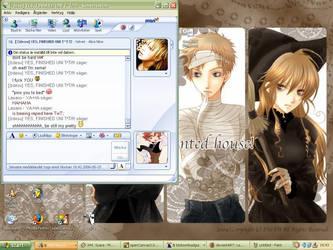 My desktop screenshot by Lasaro