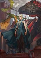 Daenerys Stormborn by Drawslave