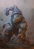 Black Dwarf VS Ant-Man by Drawslave