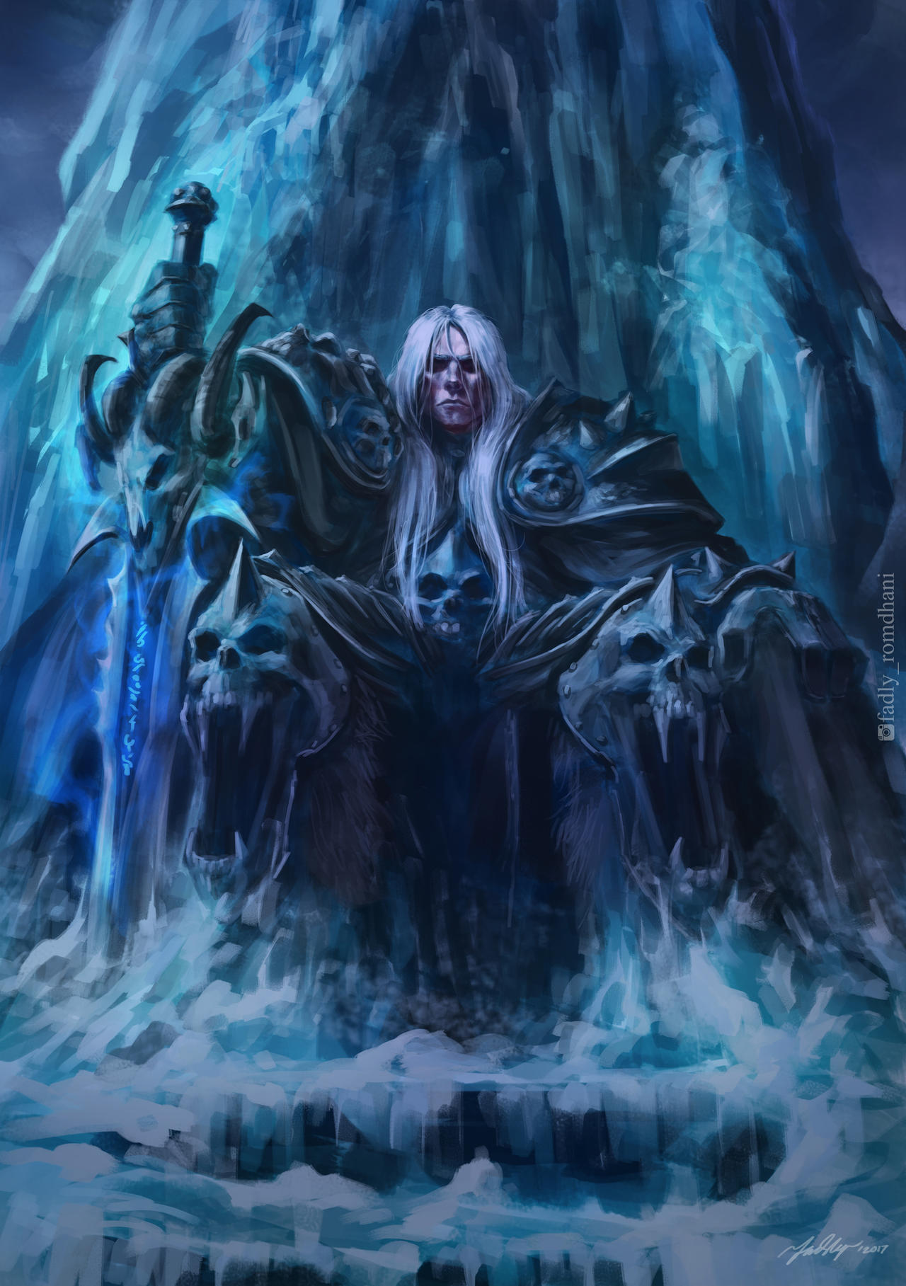 Arthas Menethil V2 By Drawslave On Deviantart