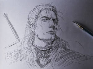 The Witcher Sketch