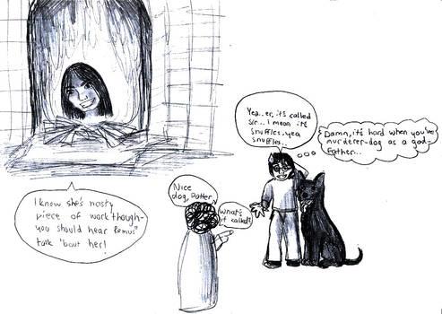 Potter doodles. XD