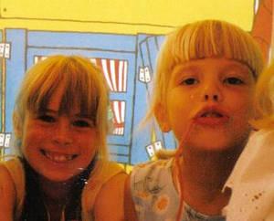 When we were cute...xD