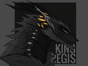 [ffxv] dragon!king regis