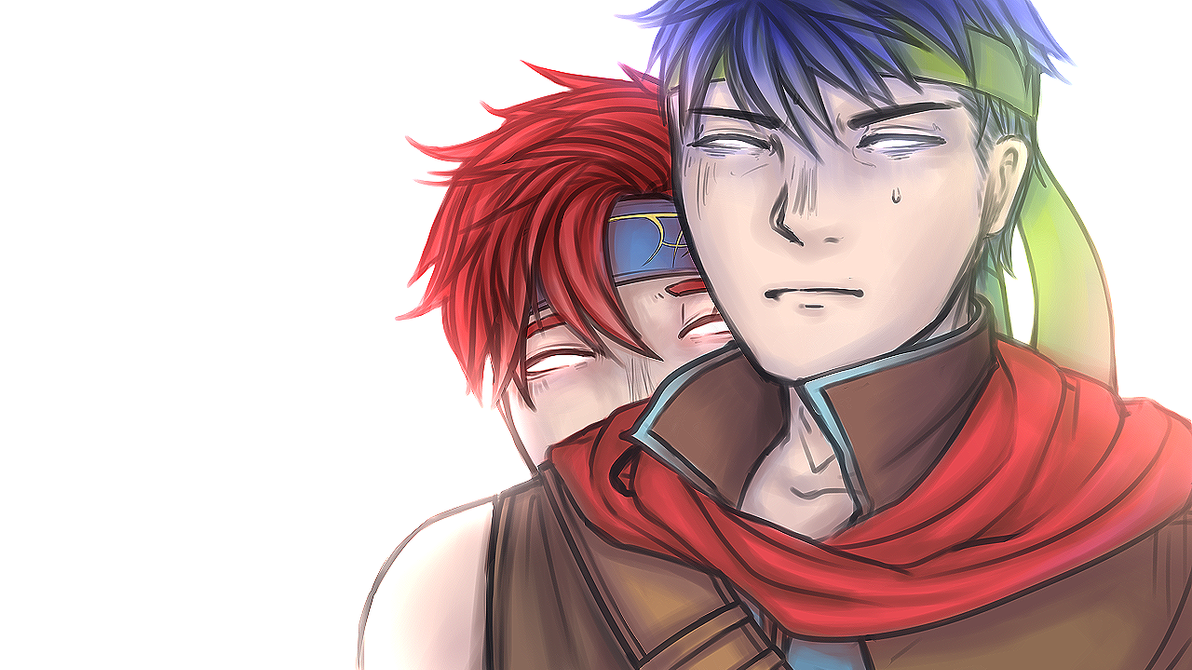 Ike + Roy - Fire Emblem by KayaArune