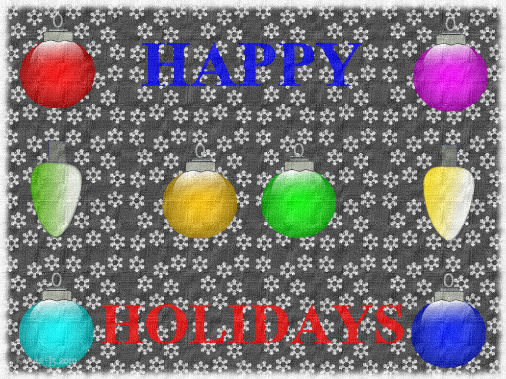 HAPPY HOLIDAYS CANVAS WP by a2j3