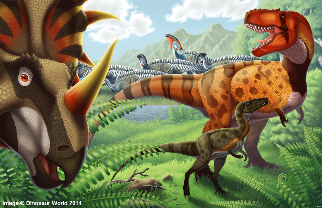 Late Cretaceous America by kyoht