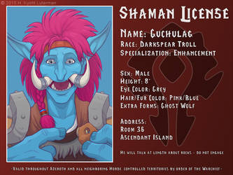 Guchulag Shaman License by kyoht