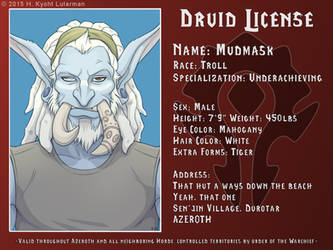 Mudmask Druid License by kyoht