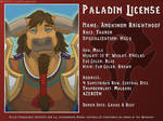 Anoximon Paladin License