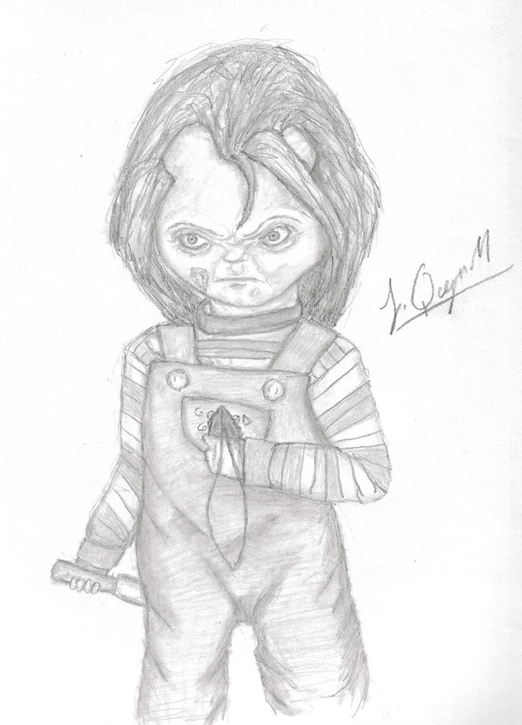 Chucky's final form in Child's play 1 by Laquyn