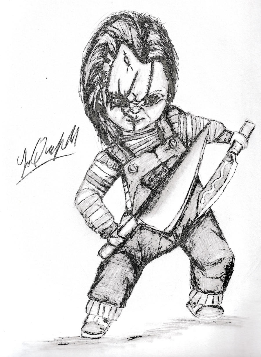 Chucky And The Tall Kitchen Knife 2 By Laquyn On DeviantArt