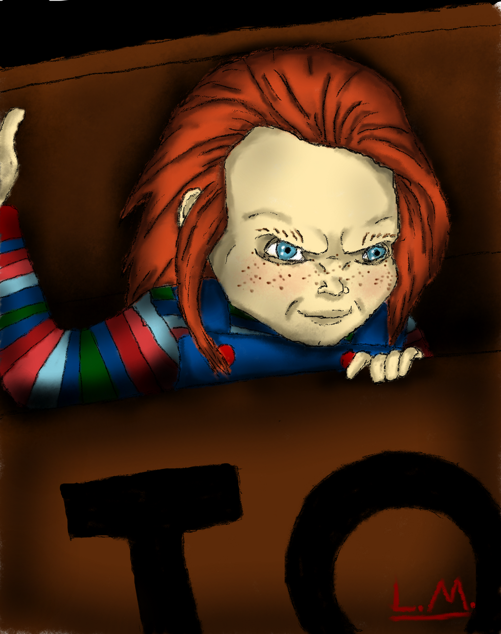 Curse of Chucky: Beloved doll gone bad by Laquyn on DeviantArt