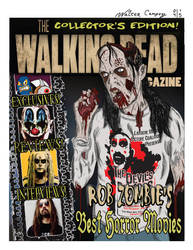 Zombie Magazine Cover by WalterCampoy