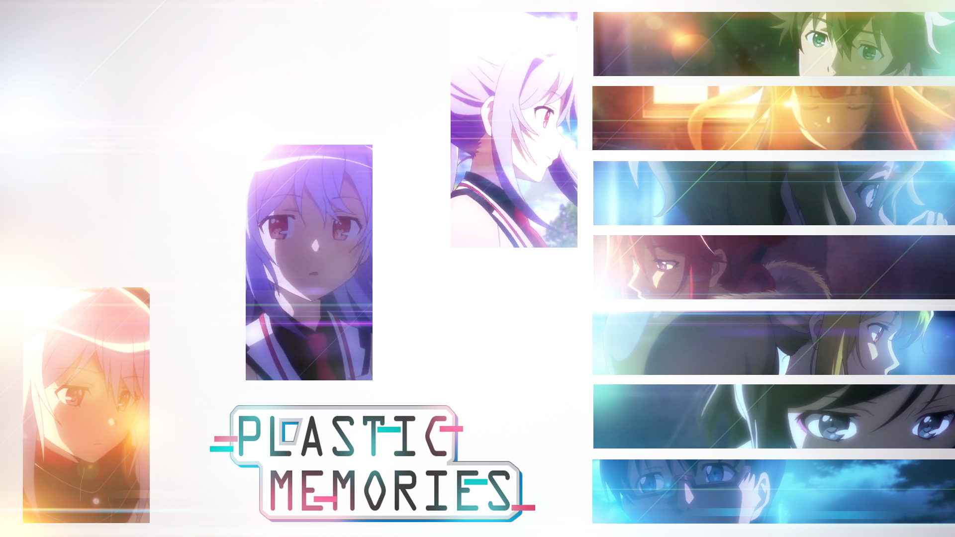 Plastic Memories Wallpaper by AimerNaana