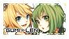 Gumi x Len Stamp by sei-chizu