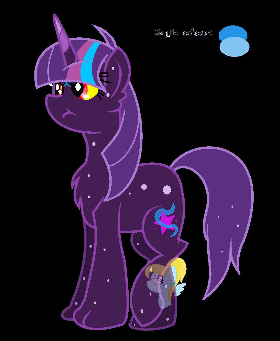 Ursine Sparkle the Ursa Major Pony Hybrid DTA by ...