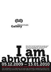 'I am abnormal' exhibition