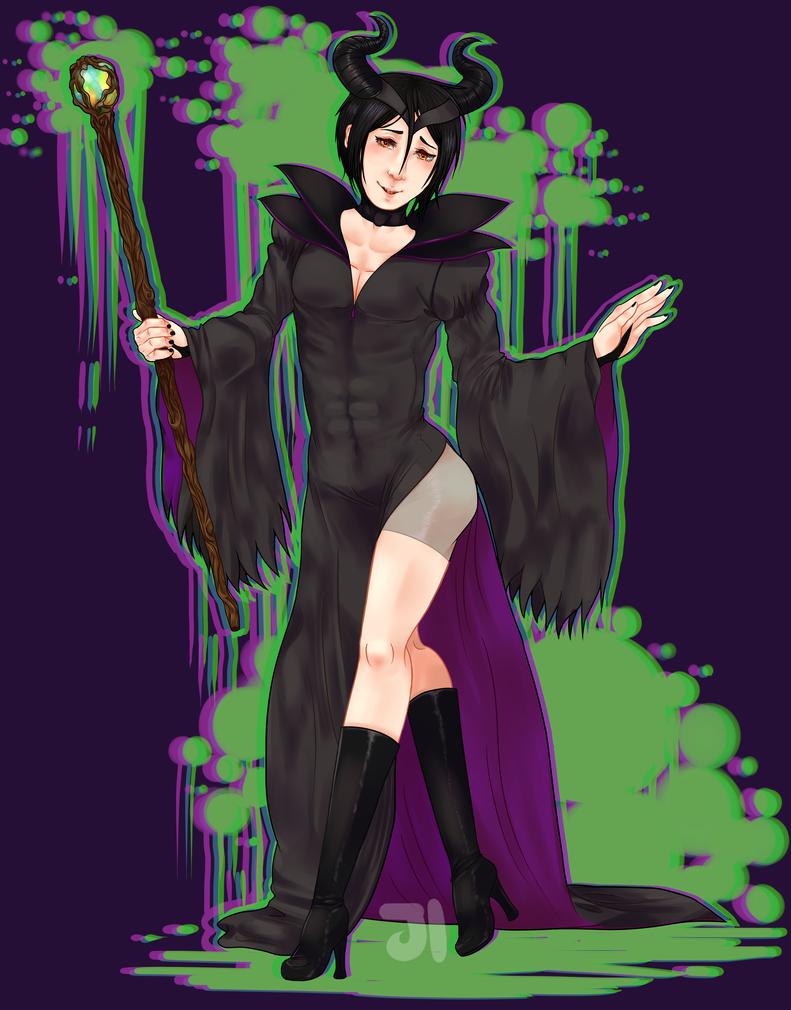 That butler, Maleficent~ by Jiji-da-cool