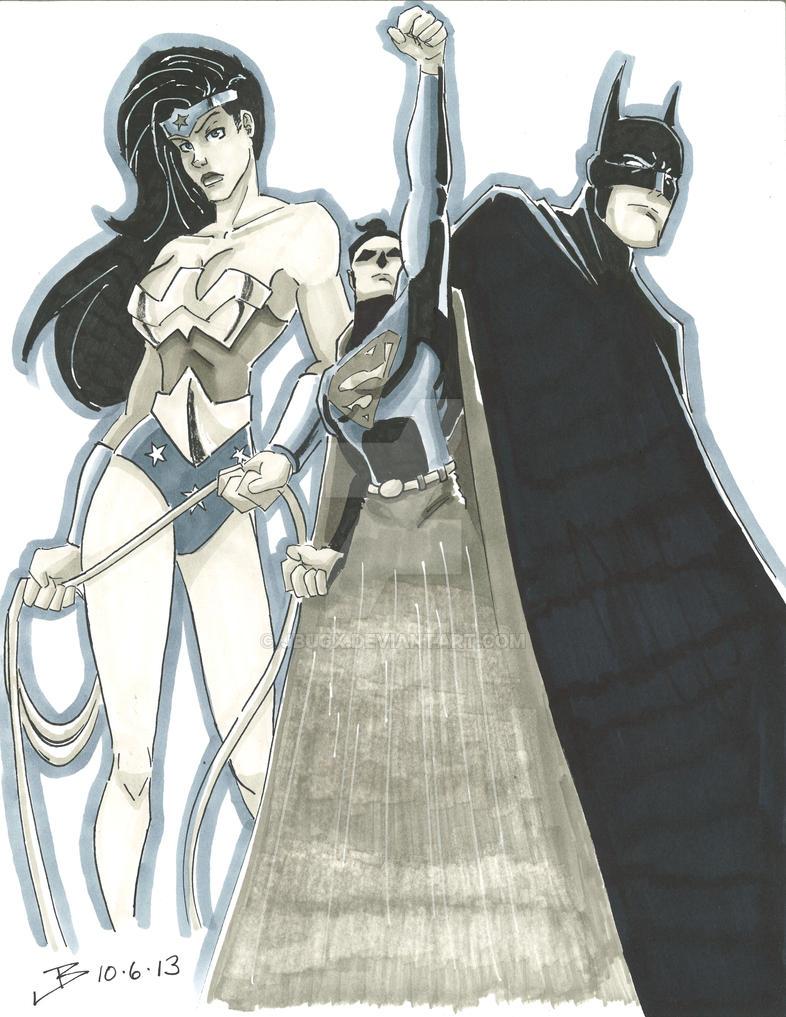 DC Trinity by jbugx