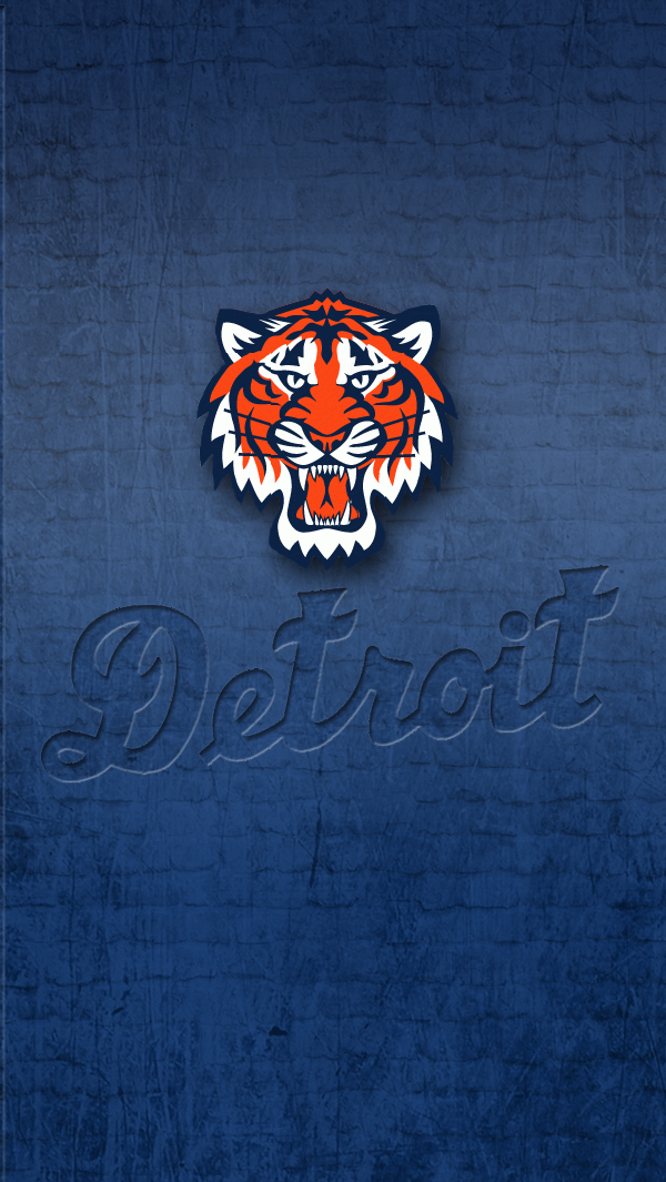 Detroit Tigers - iPhone 5 wallpaper by LicoriceJack ...