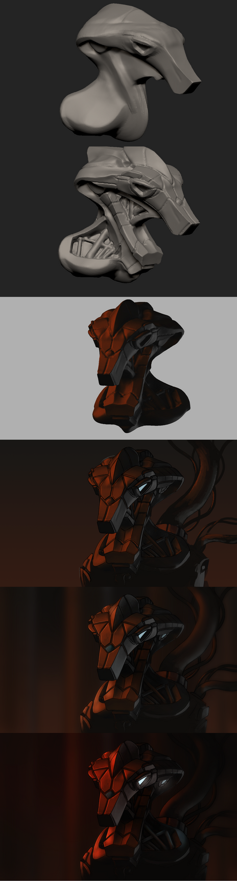 Robot thingie step by step by TheMoub