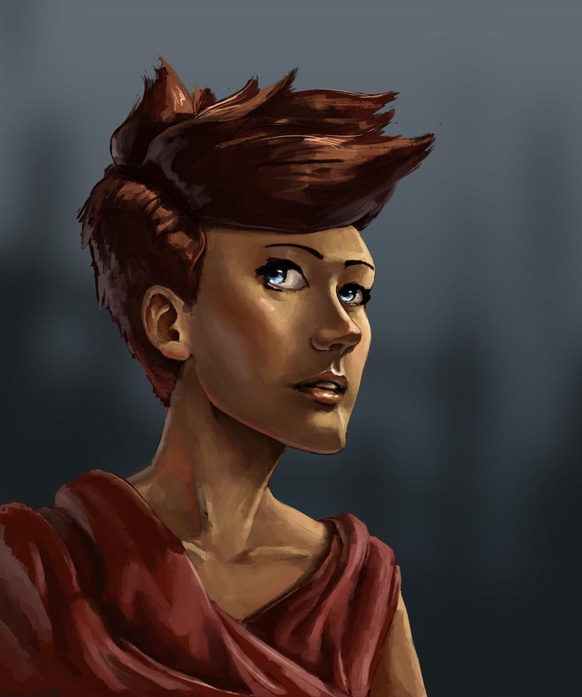 Portrait Practice by TheMoub