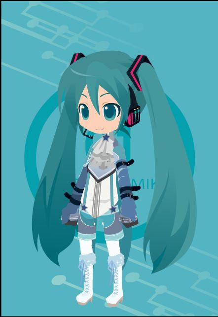 RW- Miku Hastune by GamerGirl14