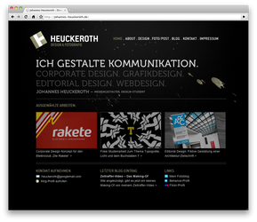 website by chormium