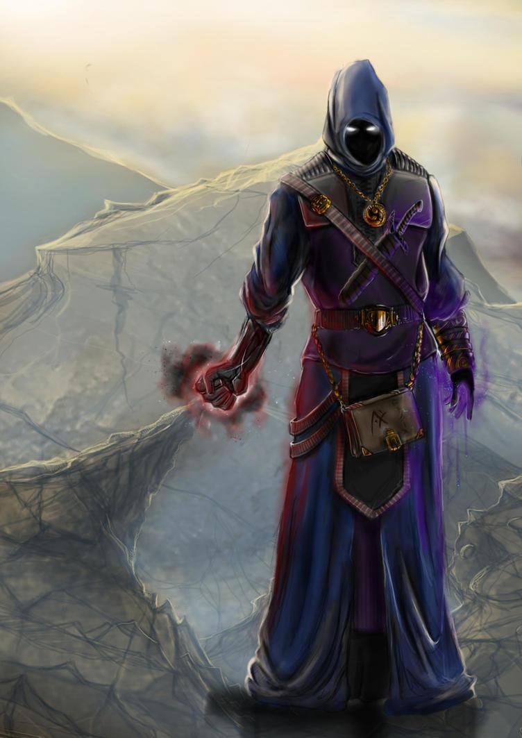FEZ Sorcerer De... Forgotten Realms Art