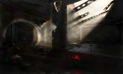 Silent darkness by Hieronymus7Z