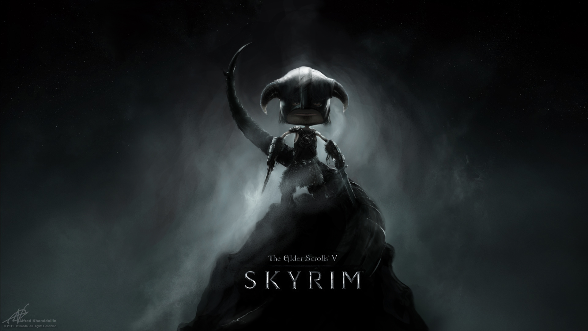 skyrim wallpaper - official and my vision of