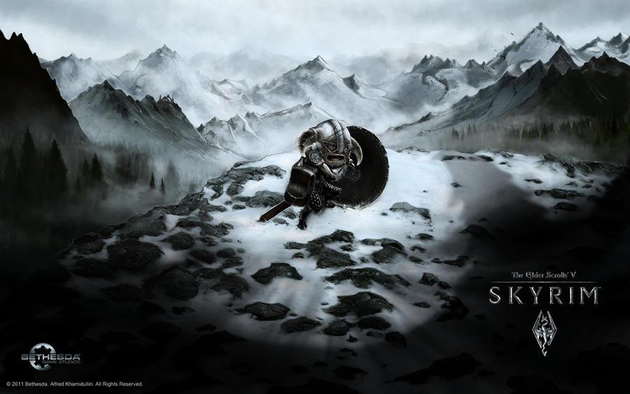 TES V: SW with logos by Hieronymus7Z