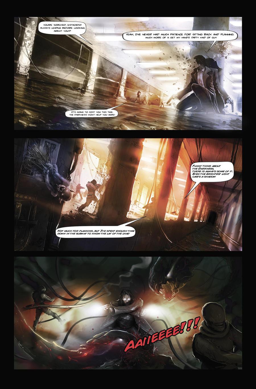 The Darkness comic stripz by Hieronymus7Z