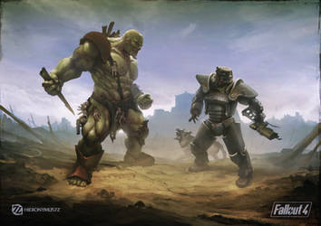 Fallout 4 tribute by Hieronymus7Z