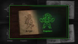 Elder Scrolls vaultboy