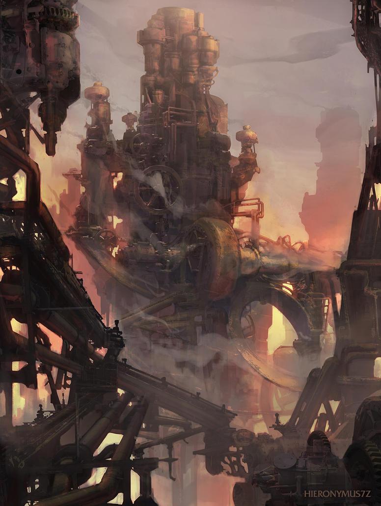 Machinecity by Hieronymus7Z