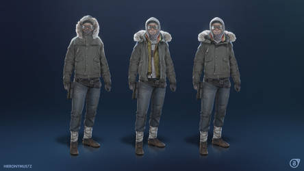 Alyx outfits for Project Borealis by Hieronymus7Z