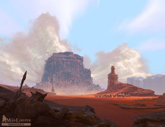 Mad Looter: Red Sands by Hieronymus7Z