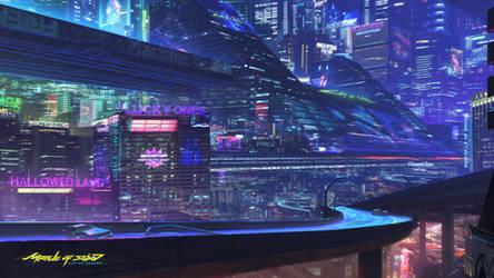 City Of Dreams [wallpaper edit]