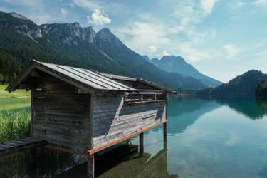 Lake Hinterstein by j-heuer