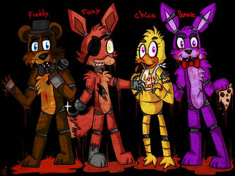 Five Nights At Freddy's by ponyrlucy