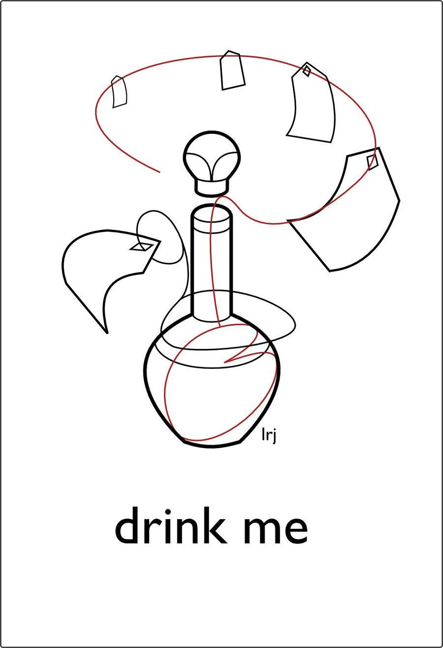 drink me by Leerjones