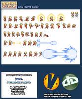 Super Saiyan Goku Sheet by LukasAhl1