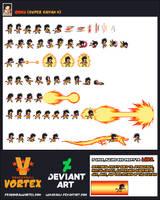 Goku Super Saiyan 4 Sheet by LukasAhl1