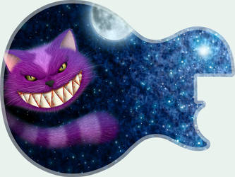Guitar skin contest - 1 by Hatecold