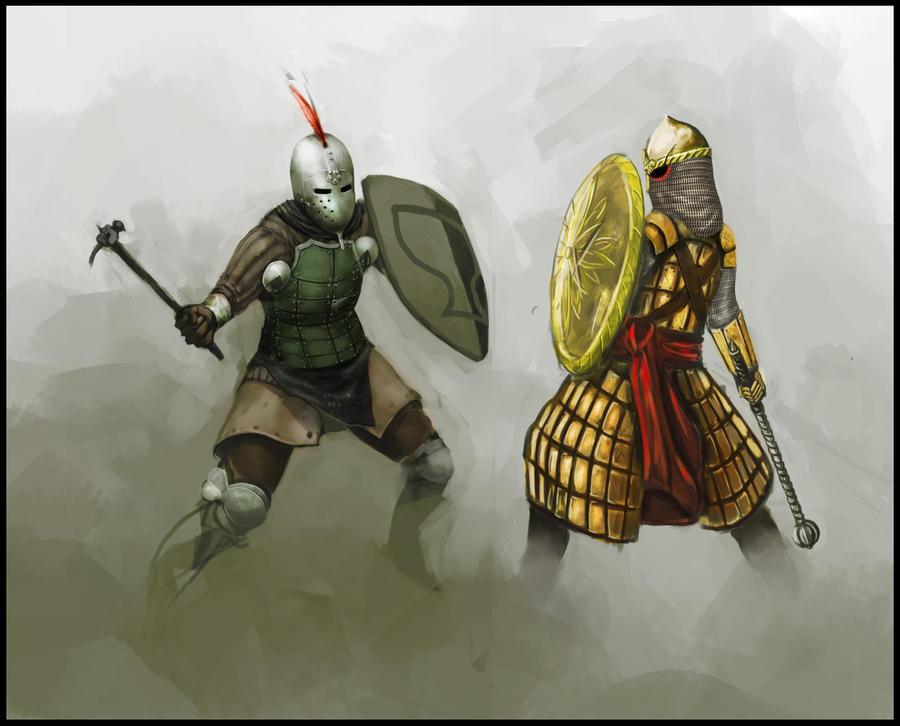 Da epic fight. by Kamikazuh