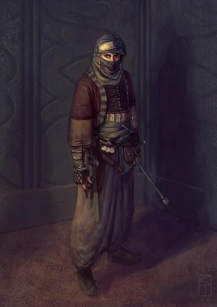 Arabian Assassin by Kamikazuh